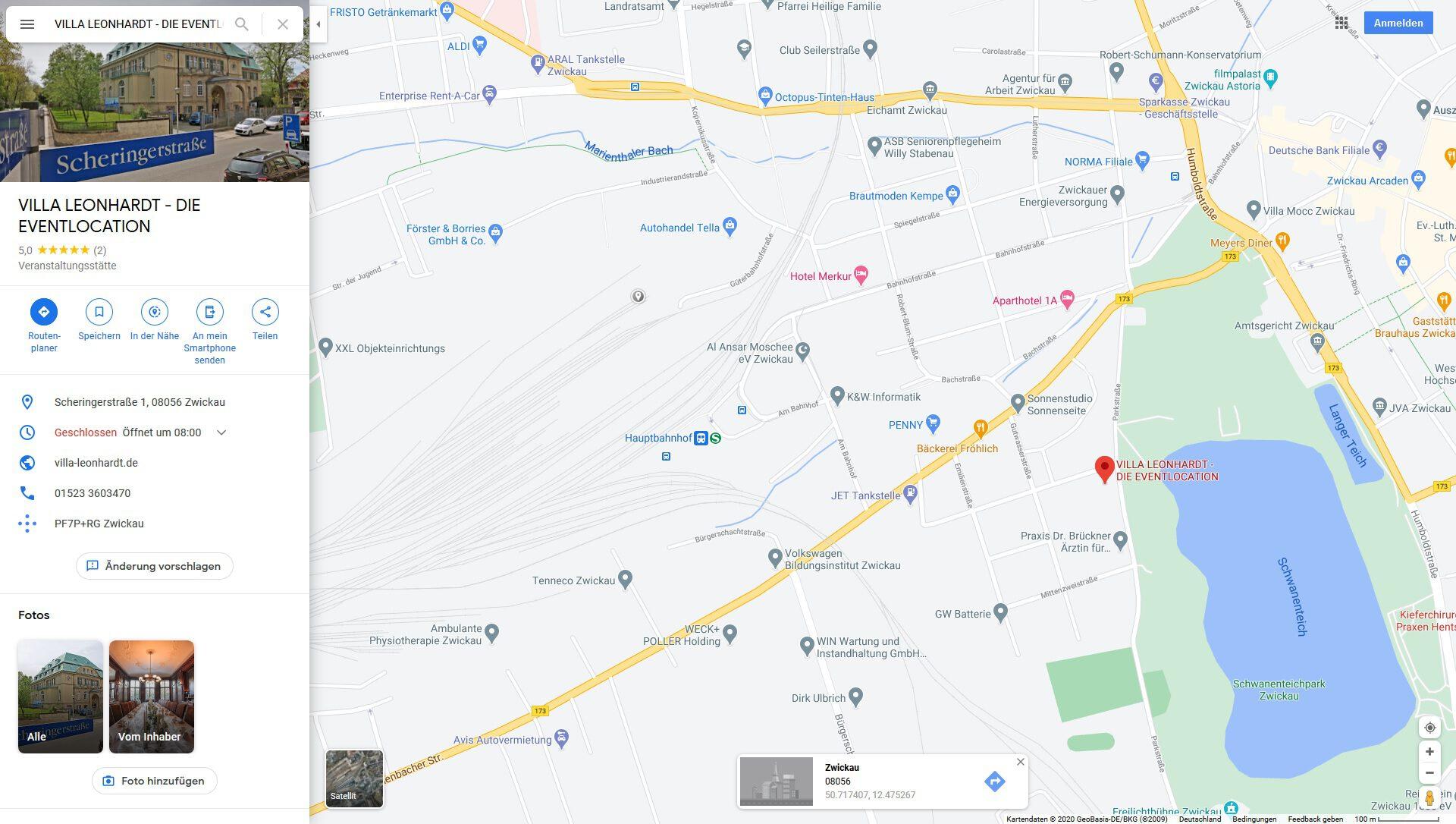 VILLA - LEONHARDTHOCHZEITEN - TAGUNGEN - EVENTS